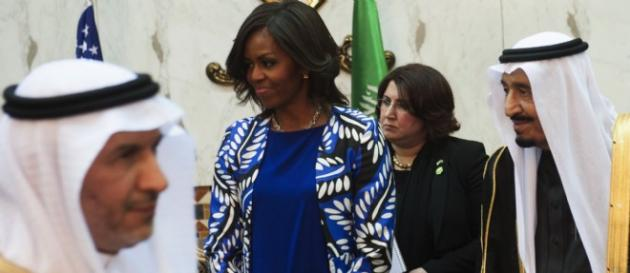 Michelle Obama a rencontré la First Lady de Scandal