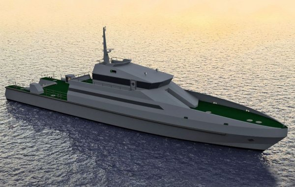 """Les images des tests en mer de """"Le Kédougou"""" : le nouveau patrouilleur de la marine sénégalaise"""