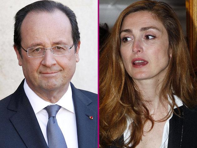 Première sortie en amoureux pour François Hollande et Julie Gayet !