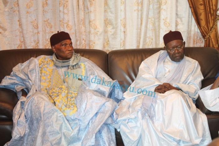 Rappel à Dieu de l'une des filles de Serigne Ababacar Sy  (RTA) : Me Abdoulaye Wade chez feue Sokhna Oumou Sy