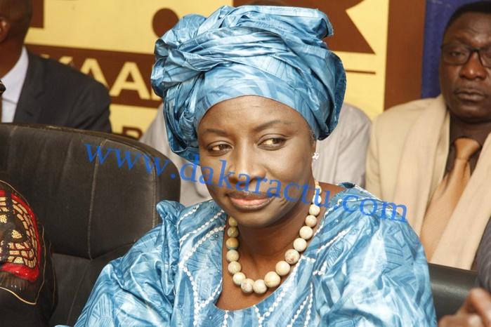 Mimi Touré écrit au président Sakho
