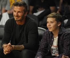 David Beckham a accompagné son fils à son premier dîner de Saint-Valentin