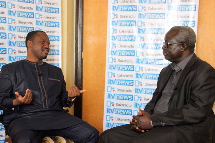 """Guillaume Soro, président de l'Assemblée nationale de Côte d'Ivoire, invité du premier numéro de l'émission """"Les Grands Entretiens"""" de Dakaractu"""