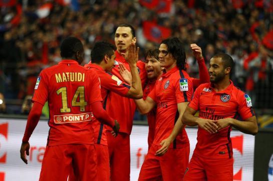 Le PSG remporte la Coupe de la Ligue en écrasant Bastia (4-0)