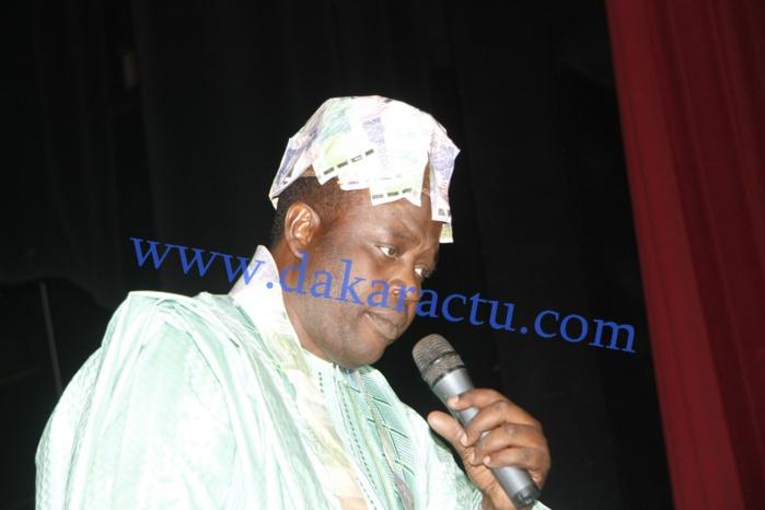 Les images de l'anniversaire de Doudou N'diaye M'bengue au Théâtre National Daniel Sorano