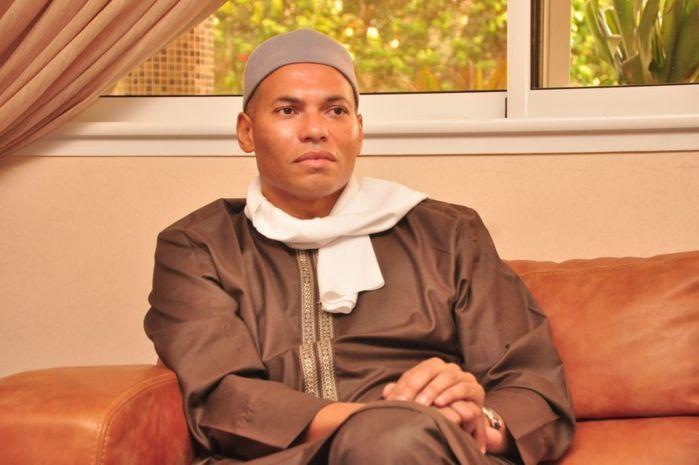Karim Wade n'était pas sorti voir ses enfants