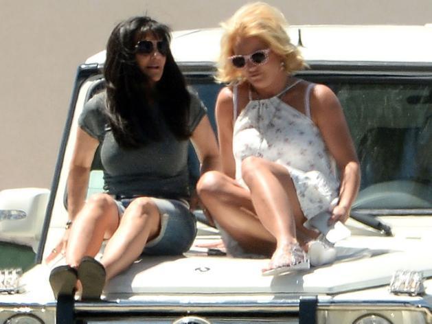 Oups ! Britney Spears a (encore) oublié sa culotte