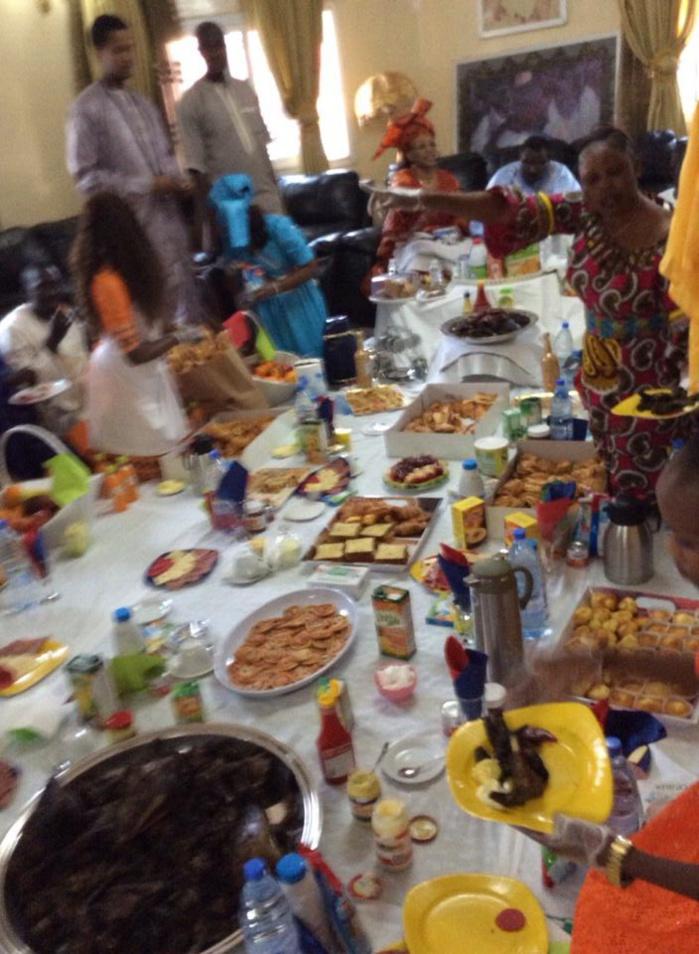 17 Avril à Mermoz : le petit déjeuner royal offert à Cheikh Béthio Thioune par ses disciples