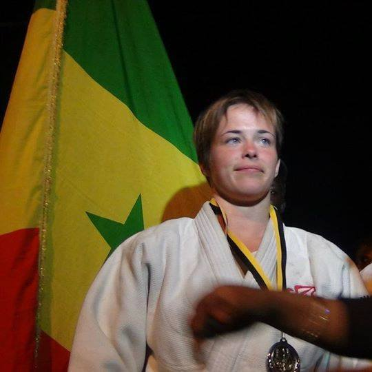 La judoka Léa Buet, naturalisée sénégalaise