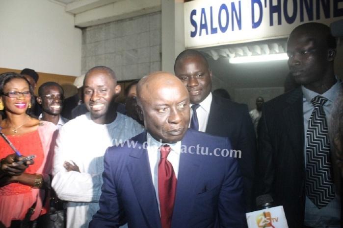 Condoléances chez Mamadou Lamine Keïta : Idy tresse des lauriers à Wade
