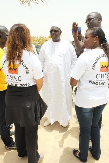 Le Président de la République honore l'amicale des employés de la CBAO du Groupe Attijariwafa Bank