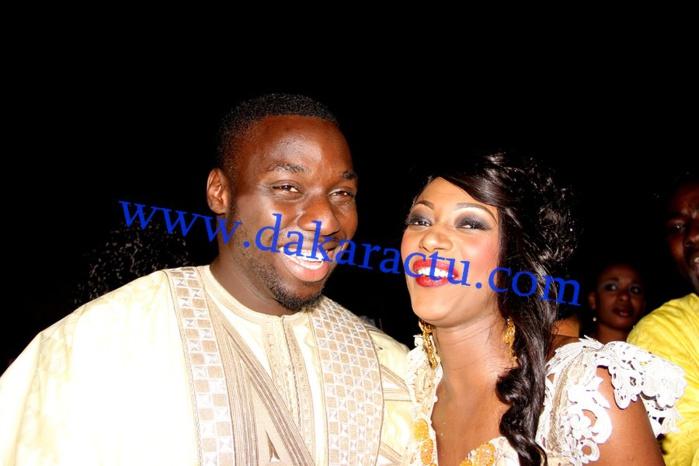 Les images du mariage religieux de Khadija Diop, fille de Mbagnick Diop « souche » avec le Mannequin Omar Ngalla Dieng alias Baye Bia