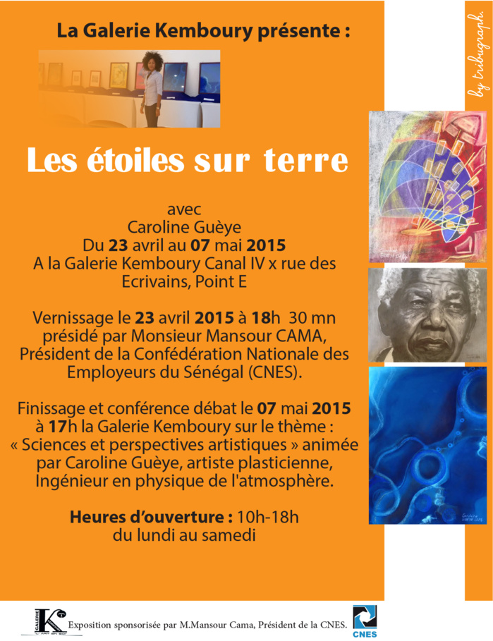 Galerie Kemboury : « Etoiles sur terre » de Caroline Guèye en vedette à partir d'aujourd'hui