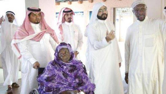 La grand-mère de Barack Obama en Terre Sainte pour effectuer la Omra