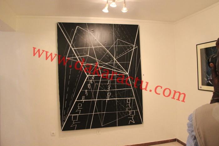 Caroline Gueye a exposé ses oeuvres à la galerie Kemboury (IMAGES)
