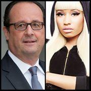 François Hollande – Nicki Minaj : leur union pourrait sauver la France!