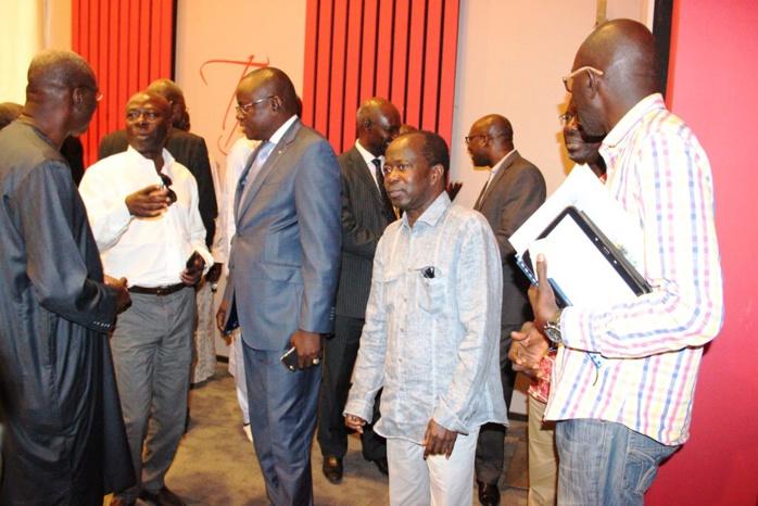 CNOSS-réunion du comité directeur : Matar Ba félicite Diagna N'diaye pour la réussite de la Chan U 20 et annonce le souhait du gouvernement d'organiser la Chan U23