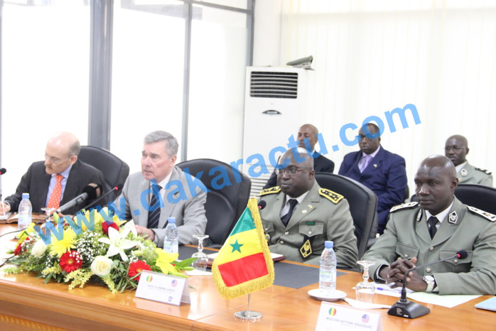 Coopération douanière : les Etats-Unis apportent leur expérience au Sénégal