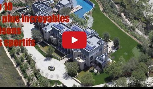 Cristiano Ronaldo, Mayweather… Top 10 des plus incroyables maisons de sportifs