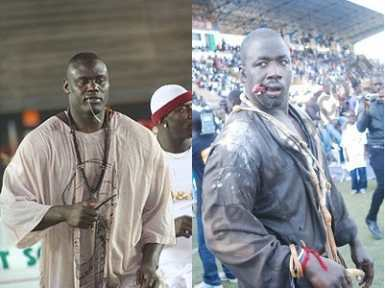 Lutte : Gris Bordeaux bat Mouhamed Ndao Tyson