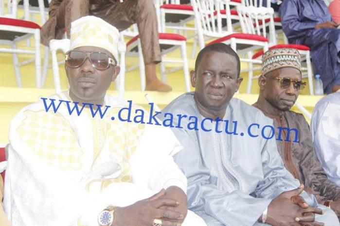Stade Demba Diop : Mbaye Dieye Faye en compagnie de Mara Dieng