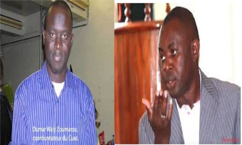 Grand Cadre : Dianté et Zoumarou suspendus pour une durée de 6 mois