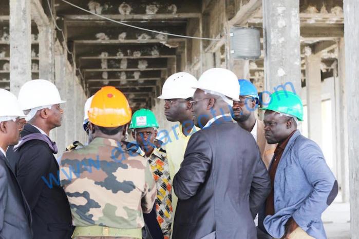 Rénovation du building administratif : Et si Bamba N'diaye avait relevé le défi et anticipé sur les délais?