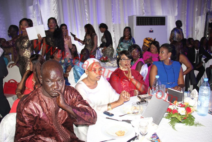 Ambiance du dîner de gala de Wally Ballago Seck au King Fahd Palace...