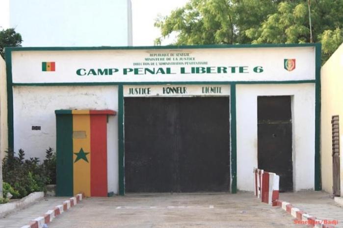 8 jours sans aucune goutte d'eau : Risque de mutinerie à la prison du Camp Pénal de Liberté 6!