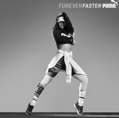 Rihanna s'élance pour Puma