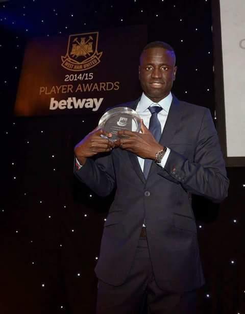 Angleterre-West Ham : Diafra Sakho meilleur buteur, Cheikhou Kouyaté meilleure performance individuelle
