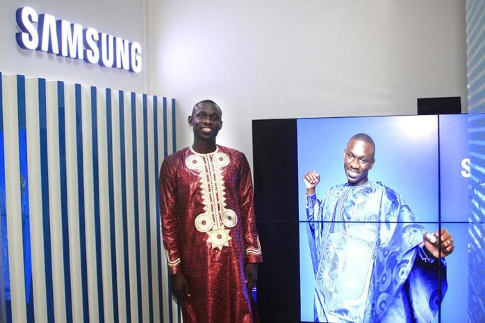 Pape Diouf, Ambassadeur de la marque Samsung