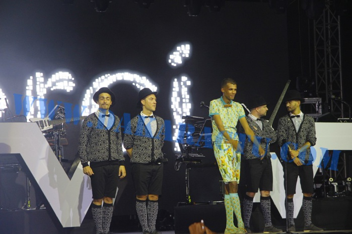 Les images du concert de STROMAE au monument de la Renaissance ( Dakar)