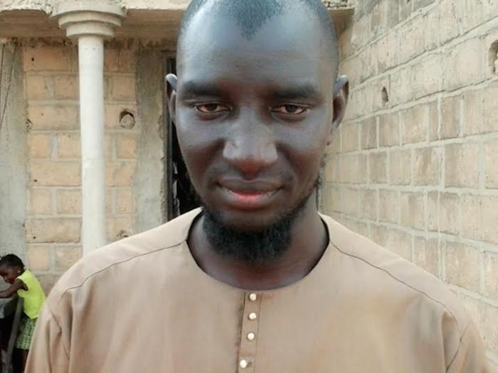 Modou Birane Diop, le perturbateur de la cérémonie officielle du Kazu Rajab