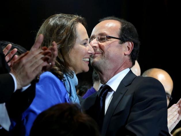 """Ségolène Royal et François Hollande, """"les meilleurs amis du monde"""""""