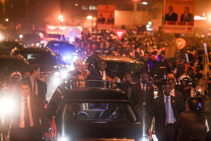 Accueil du roi du Maroc : La mobilisation «N'diaga N'diaye» des Marron