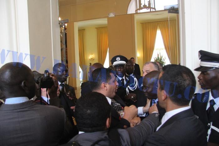 Coulisses de la visite du  Roi Chérifien : Incident entre les gardes rapprochées sénégalaises et marocaines