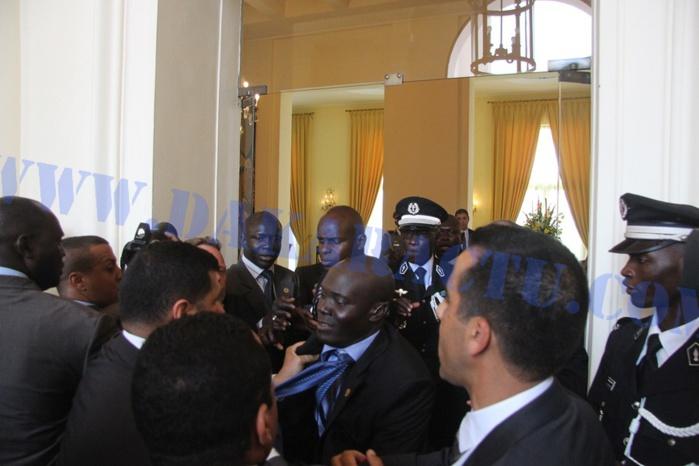 Réception du roi du Maroc au Palais présidentiel : incident entre les gardes rapprochées sénégalaises et celles marocaines