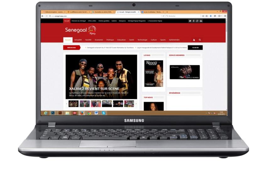 NOUVEAU SITE INTERNET : L'Association NJAAY lance son portail d'informations.