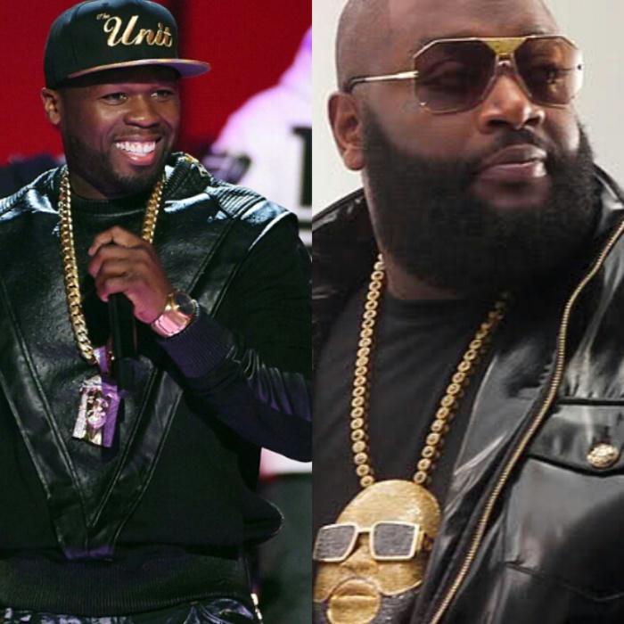 50 Cent poursuit Rick Ross en justice pour une sextape