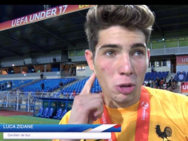 Luca Zidane, 17 ans et déjà champion d'Europe, sur les traces de son père Zinédine