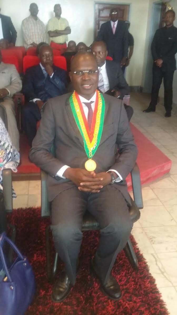 Khalifa Sall fait citoyen d'honneur de la ville de Brazzaville