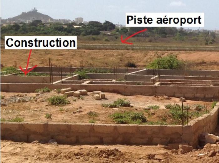 Après avoir déplacé le mur de clôture en catimini : des spéculateurs fonciers délestent l'aéroport de 26.000 mètres carrés