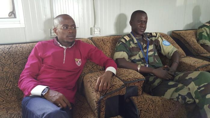 Contingent Sénégalais à Yamoussoukro : nos soldats reçoivent avec satisfaction la visite d'Abdou M'bow