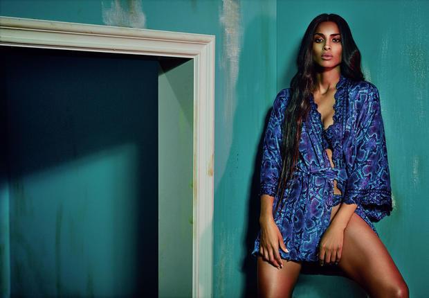 Ciara, égérie sensuelle pour Roberto Cavalli