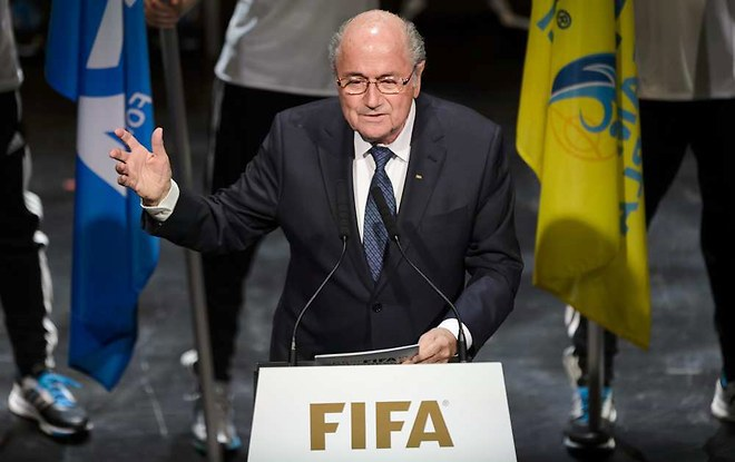 Blatter, sans honte et sans scrupule
