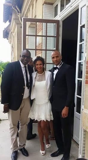 Les images du mariage de l'ancien international sénégalais Diomansy Kamara