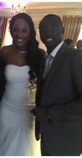 Les images du mariage de l'attaquant sénégalais Papiss Demba Cissé
