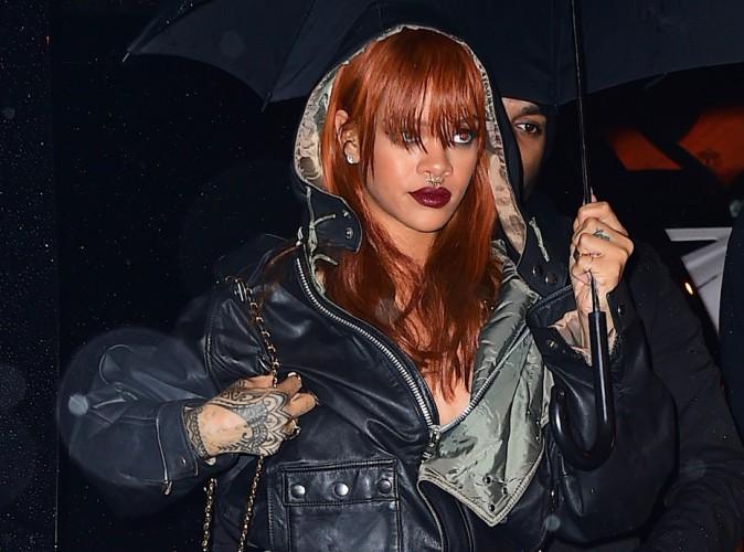 Rihanna : ghetto et gothique pour retrouver... Karim Benzema !