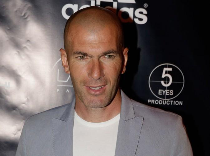 """Zinedine Zidane à propos de son fils Luca : """"Je suis un petit peu jaloux!"""""""